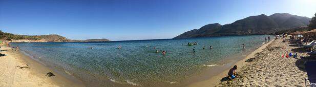 Skoutari Secret Beach Laconia Greece